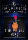 Clay Flower Vase by MagicLatex